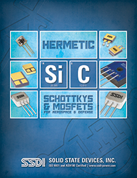 Hermetic SiC Schottkys & MOSFETs for Aerospace & Defense
